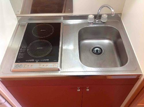 レオパレスみなみ 208号室のキッチン