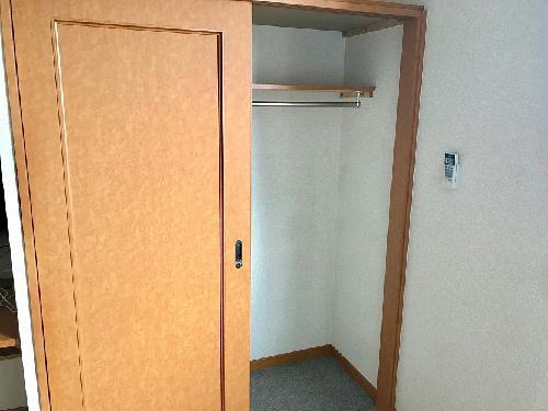 レオパレスみなみ 208号室の収納