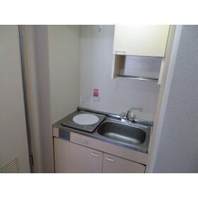豊町中央コーポ 0203号室のキッチン