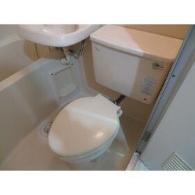 豊町中央コーポ 0203号室のトイレ