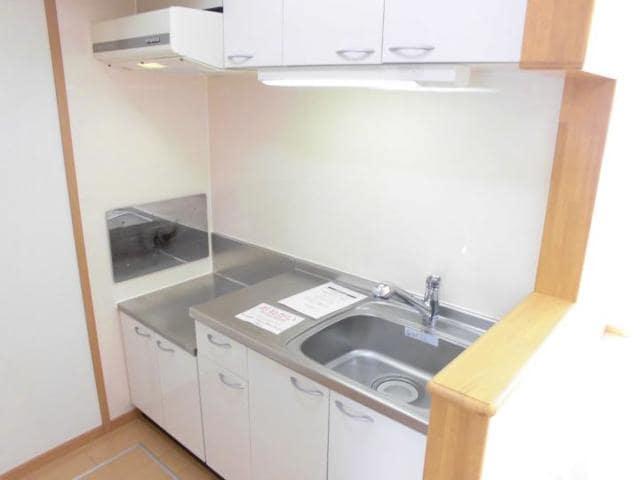 サン・ジェルメ 01020号室のキッチン