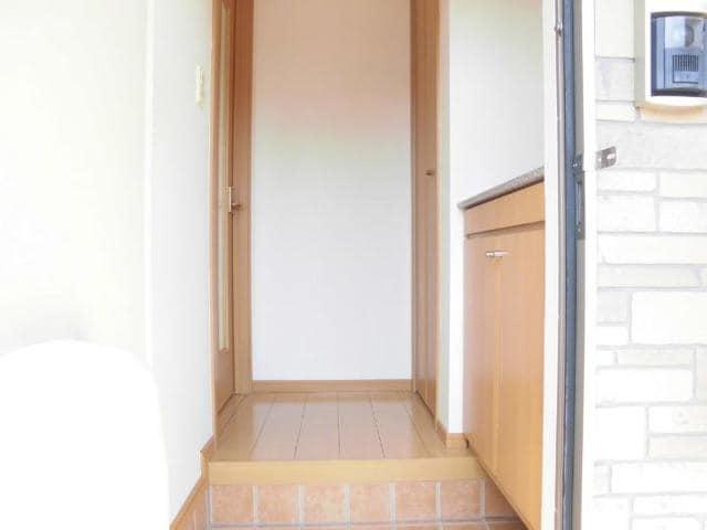 サン・ジェルメ 01020号室の玄関
