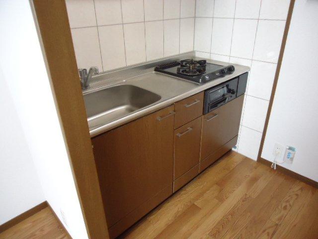 ディア 203号室のキッチン