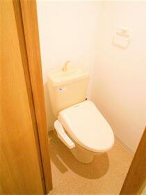 レナジアつくば 205号室のトイレ