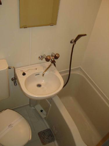 レオパレス土古第2 201号室の風呂