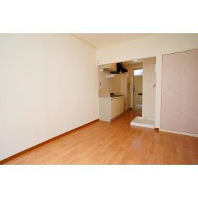 山仁ハイツ 208号室のリビング