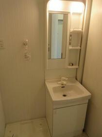 東大井CasaShige S-5号室の洗面所