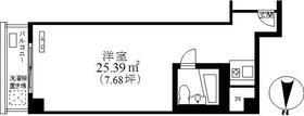 浜松町ダイヤハイツ 601号室の間取り