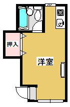 赤間荘・101号室の間取り