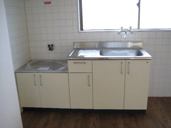サンラフォーレ A202号室のキッチン
