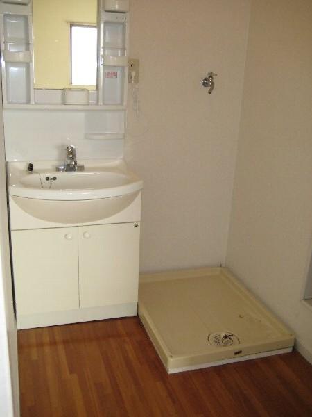 サンラフォーレ A202号室の洗面所