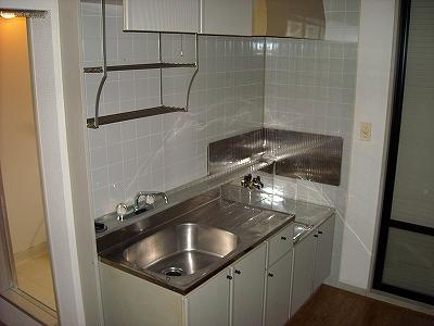 ベルコリーヌ藤ヶ丘 B201号室のキッチン