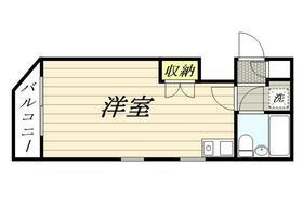 ザ・ハウス北池袋 0201号室の間取り