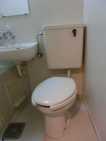 ザ・ハウス北池袋 0201号室のトイレ