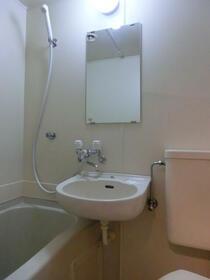 ザ・ハウス北池袋 0201号室の洗面所