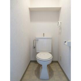 メゾンカワベ 0202号室のトイレ