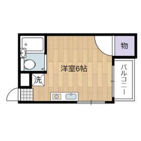 宮本マンションⅡ・305号室の間取り