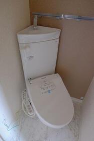 ユナイト仲通ルート・ヴェンガー 103号室のトイレ