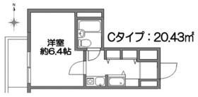 S-FORT錦糸町・1105号室の間取り
