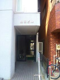 柿田ビル 203号室のエントランス