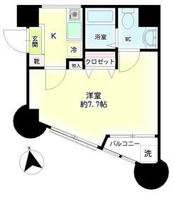 第12新井ビル 00101号室の間取り