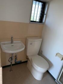 川口コーポ 201号室のトイレ
