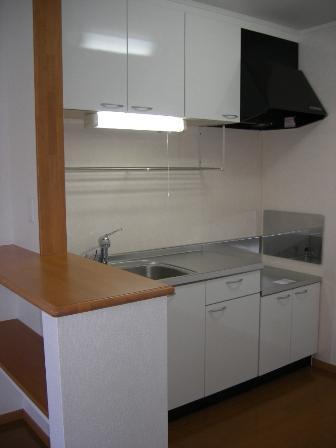 シンフォニア 01010号室のキッチン