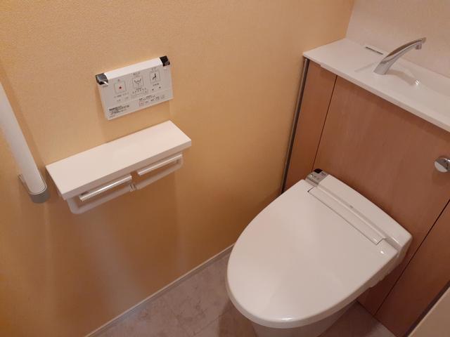 ロン・ボヌール 弁天池公園 Ⅰ 01010号室のトイレ