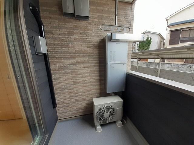 ロン・ボヌール 弁天池公園 Ⅰ 01010号室のバルコニー