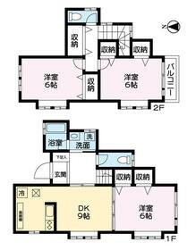 広袴町一戸建住宅・B号室の間取り