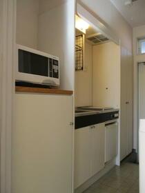 パステルメゾンⅡ 105号室のキッチン