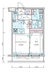ジェノヴィア墨田八広スカイガーデン・305号室の間取り