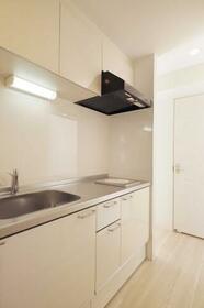 永野マンションⅠ 304号室のキッチン