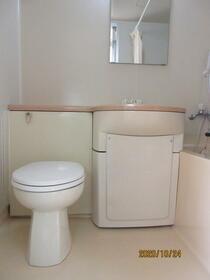 サーカス蒲田 301号室のトイレ