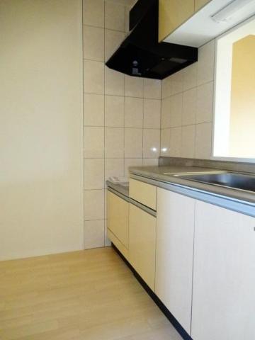 Calme BonheurⅠ 201号室のキッチン