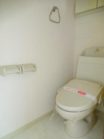 Calme BonheurⅠ 201号室の玄関