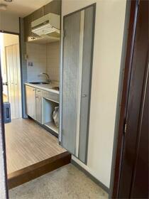 ライオンズマンション泉第2 501号室の玄関