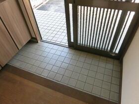 第一ハイツ成田 103号室の玄関