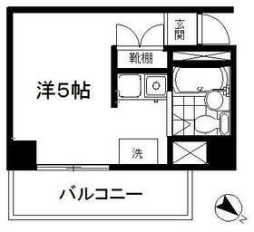 ARECX八幡・5L2号室の間取り