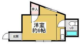 MAYUMIハイツ枚方15番館尊延寺 304号室の間取り