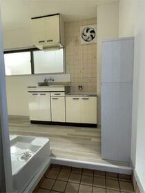 サンブリッジ 202号室のキッチン