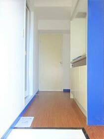 アベニュー 101号室の玄関