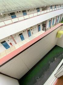 シティハイム第2 202号室のバルコニー