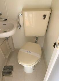シティハイム第2 202号室のトイレ