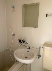 シティハイム第2 202号室の洗面所