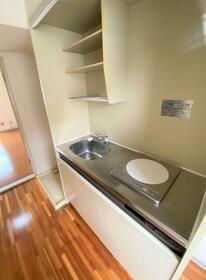シティハイム第2 202号室のキッチン