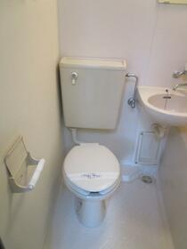 メルベーユカネフサ 103号室のトイレ