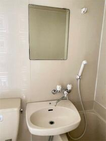 石川コーポ 202号室の洗面所