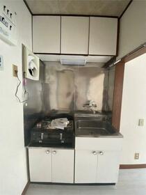 石川コーポ 202号室のキッチン