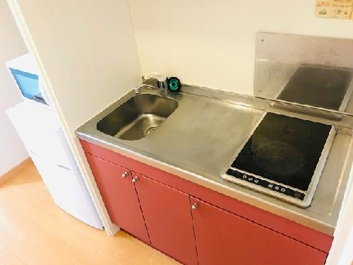 レオパレスエスポアール 302号室のキッチン